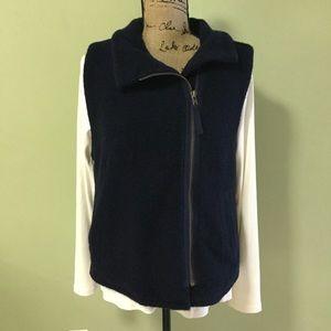 J crew Sherpa vest medium